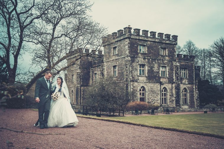 Wedding Photographer at Clearwell Castle