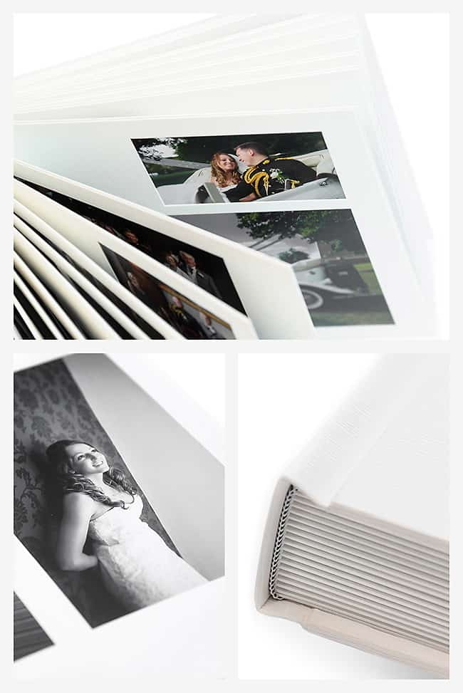 Jorgensen Studio Matted wedding album