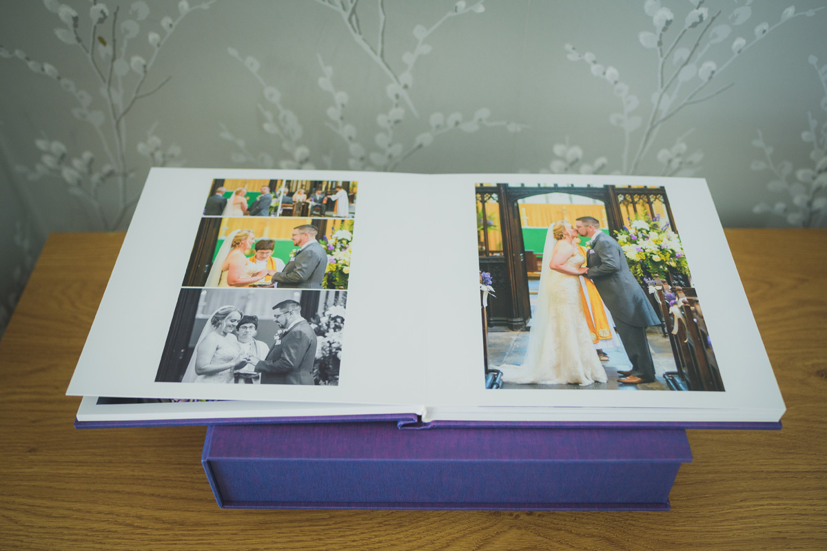 Wedding Album by Stewart Clarke Photography