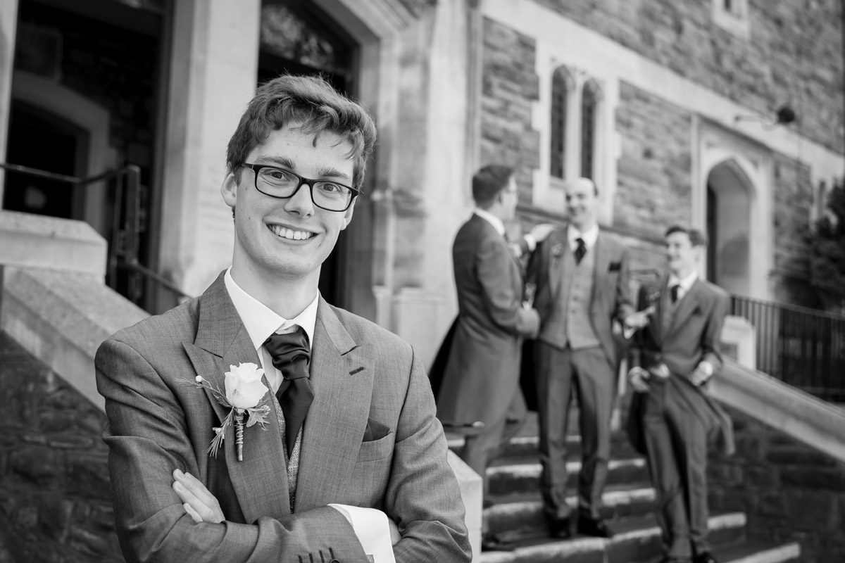 Wedding Photographer Bristol Horfield Baptist Church