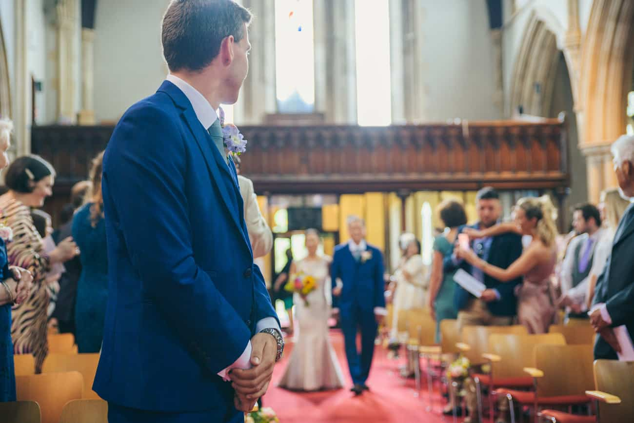 Wedding Photography at Christ Church Clifton