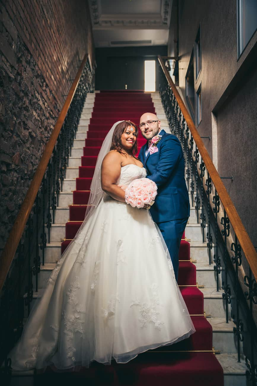 Wedding Photography Bristol at the Avon Gorge Hotel