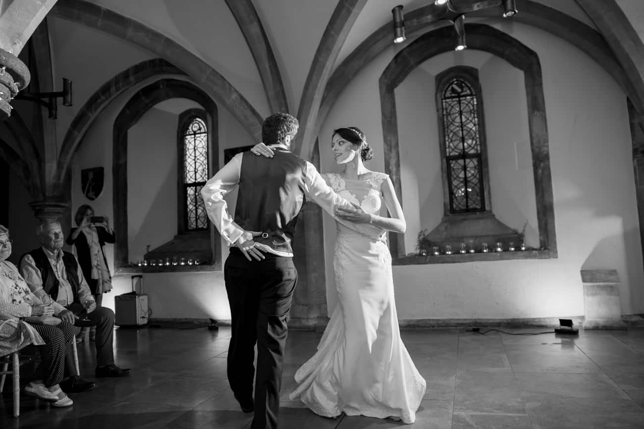 Wedding Photographer at The Bishop's Palace Wells