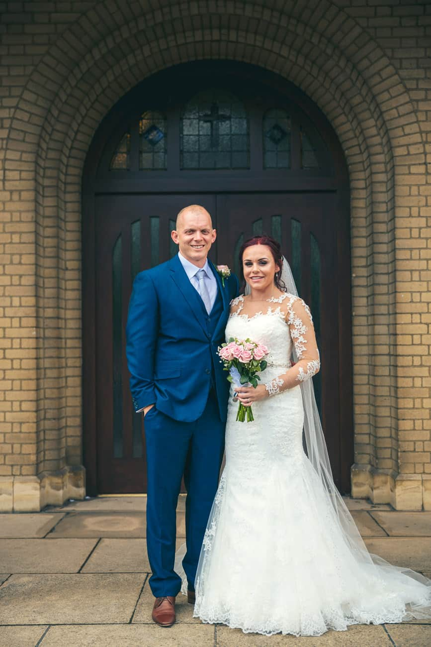 Wedding Photography at St Teresa's Church in Filton