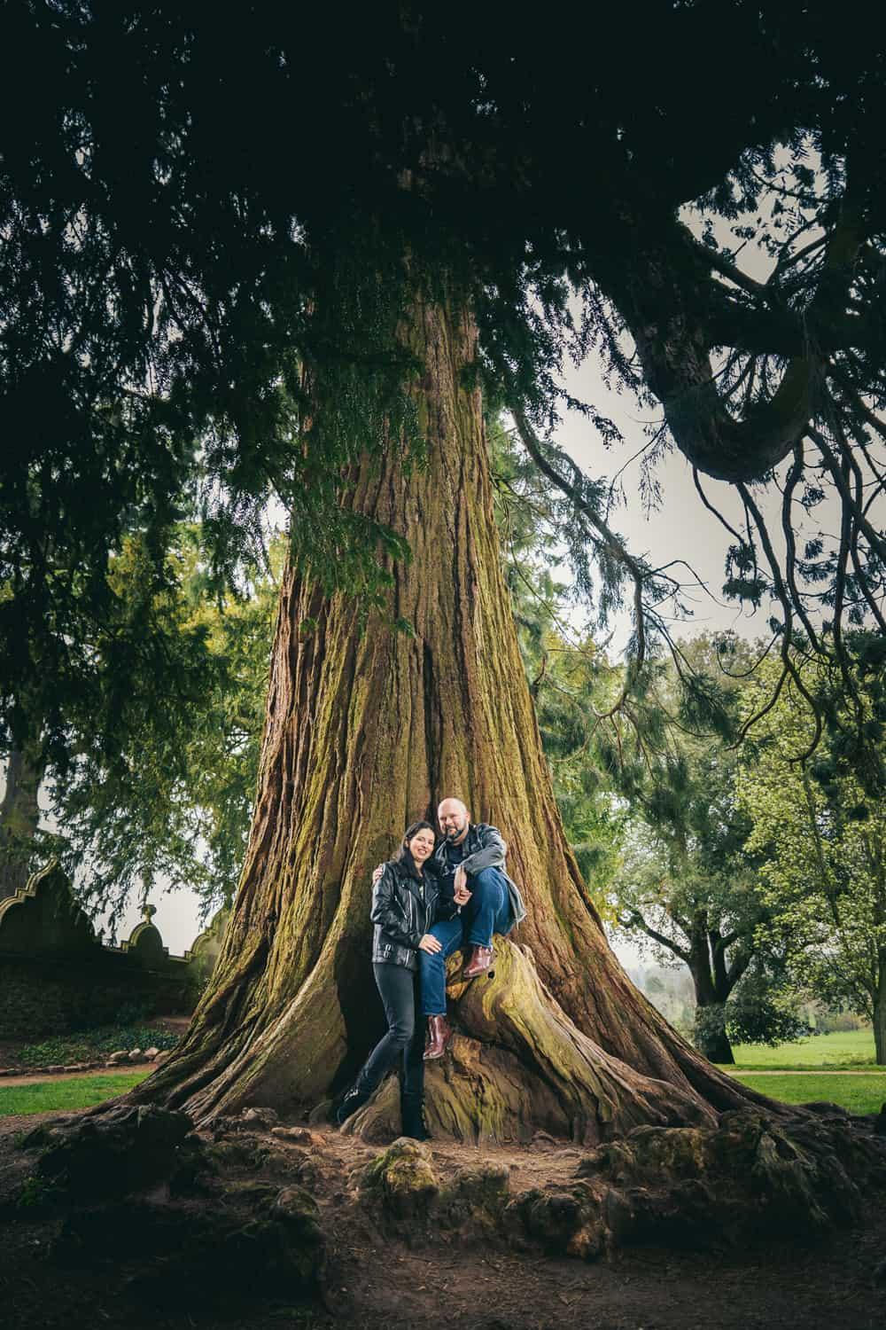 Engagement shoot at Ashton Court