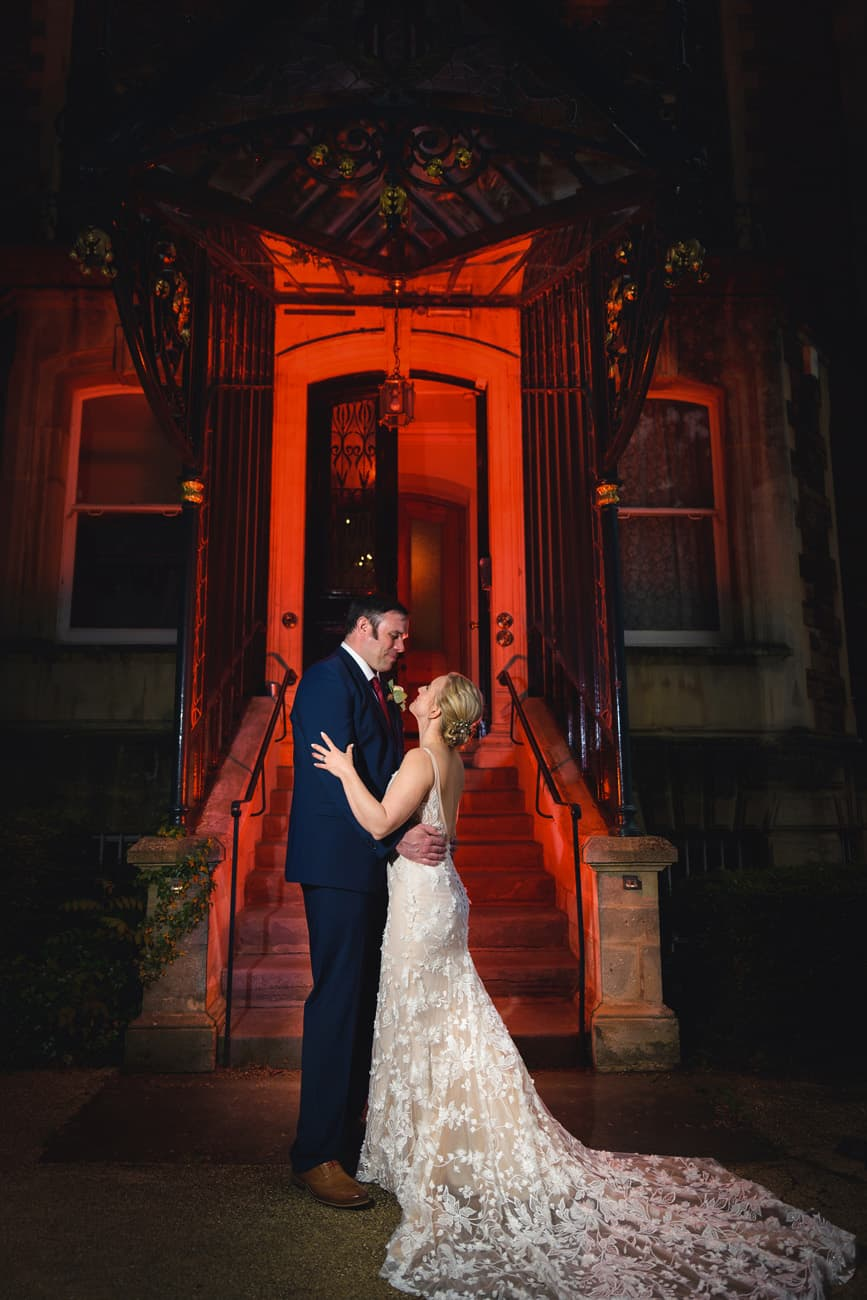 Wedding Photographer at The Mansion House